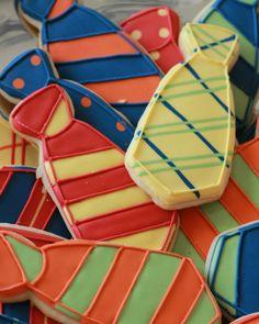 Necktie cookies from Little Prince Cookies