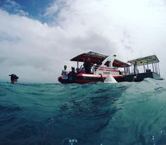 An awesome day snorkeling with the guys at Reef Sprinter. Visibility was impacted by a recent storm but it was still an awesome experience. #greatbarrierreef #australia #portdouglas