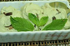Mint Chocolate Chip Ice Cream (dairy-free)  #EdibleHarmony
