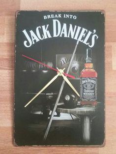 Wall Clock Jack Daniels /Creative Retro Nostalgia от studioclock