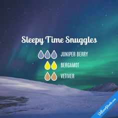 Sleepy Time Snuggles - Essential Oil Diffuser Blend