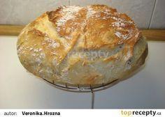 Levný chléb od Ládi Hrušky recept - TopRecepty.cz Cas, Ciabatta, Bread Recipes, Food And Drink, Baking, Anna, Gastronomia, Bakken, Backen