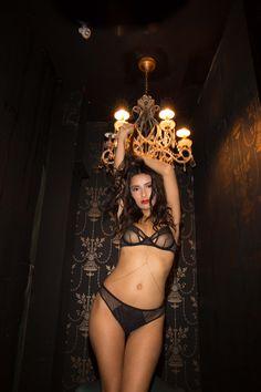 Model: Eliana Fonseca Photographer: Duy Nguyen Wearing Bluebella www.reverouge.ca
