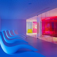 Nhow Hotel à Berlin, Karim Rashid Studio.