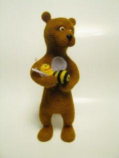 Keeper of Honey -- Elena Smirnova -- Игрушки животные, ручной работы. Ярмарка Мастеров - ручная работа Хранитель меда. Handmade.