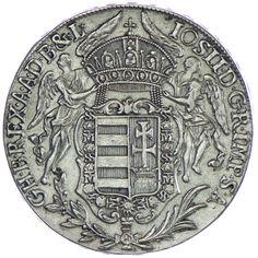 Josef II. 1765/80 - 1790 Madonnentaler 1783 B Silber
