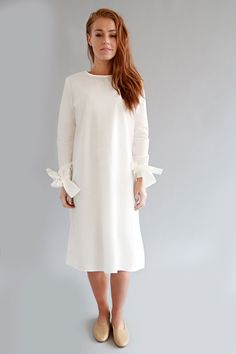 WHITE SARA DRESS – SOLIKA