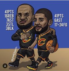 They were such a good duo till kyrie went running to the Celtics