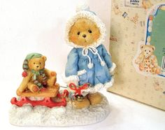 "Cherished Teddies Mary, ""A Special Friend Warms The Season"" - Holiday Decor, 1993 Retired Vintage Collectible Figurine Gift Ideas Etsy Christmas, Christmas Items, Christmas Holidays, Christmas Door, Thanksgiving Decorations, Christmas Decorations, Holiday Decorating, Green Front Doors, Etsy Shipping"