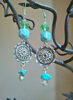 Turquoise Earring DIY