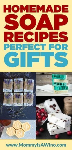 Homemade Soap Recipes Perfect for Gifts – Easy DIY Soap Bars made in your home. … Homemade Soap Recipes Perfect for Gifts – Easy DIY Soap Bars made in your home. DIY Soap Recipes that even soap making beginners can do. Homemade Christmas Gifts, Homemade Gifts, Homemade Candles, Savon Soap, Homemade Home Decor, Soap Making Supplies, Homemade Soap Recipes, Homemade Food, Homemade Beauty