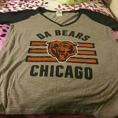 Chicago Bears Victoria Secret shirt Used in good condition used once Victoria secret  Tops Tees - Short Sleeve