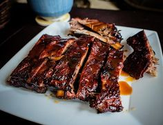 Let the Ribs Speak and the Sauces Sing with a recipe for Sweet Dry Rubbed Baby Back Ribs! It's not too late to enjoy a summer barbecue! Image courtesy of FiftyNightShades | flickr.com. #recipes #BBQ