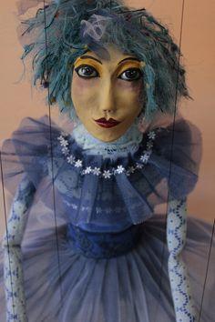 marionette Ballerina_1 marioneta puppet ooak por Etceteramarionetas
