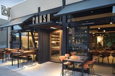PAUSA Restaurant and Bar by CCS Architecture San Mateo California