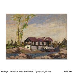 Wildlife Paintings, Nature Paintings, Landscape Paintings, Tom Thomson Paintings, Great Works Of Art, Famous Artists, Custom Posters, House Painting, Christmas Holiday