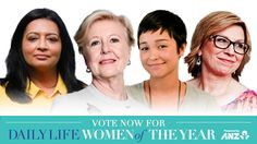 Vote for a woman with disability whom you think has sparked social change for people with disability.