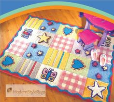 Incredible Baby Rug Verona, Kids Bedroom Accessories, Girls Rugs, Childrens Rugs, Star Designs, Fashion Colours, Little Star, Wool Rug, Modern Design