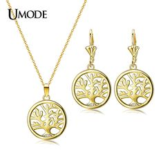 UMODE  Gold / Rhodium plated Fashion Women Jewelry Sets Including Tree of Life Carved Earrings And Necklaces Set AUS0030     Tag a friend who would love this!     FREE Shipping Worldwide     Buy one here---> http://jewelry-steals.com/products/umode-gold-rhodium-plated-fashion-women-jewelry-sets-including-tree-of-life-carved-earrings-and-necklaces-set-aus0030/    #silver_earrings