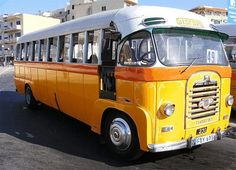 during a very rare downpour on Malta I saw a woman with a brolly open inside this bus because of the leak in the roof