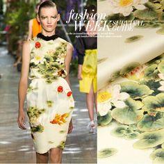 135 cm 14mm lotus flower drukuj różowy jedwab tkanina organza sukienka koszula ubranie spodnie w witam, jesteśmy na sprzedaż duży, kliknijtutajaby uzyskać kupon cieszyć zniżki.         FAQ:  When can I get my parcel?  od Tkaniny na Aliexpress.com   Grupa Alibaba