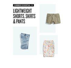 Summer Fashion Essentials: Shorts, Skirts & Pants