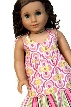 American Girl Doll Clothes  The Rose Ballad by dollcloset on Etsy, $16.00