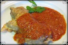 Una chapucillas y cocinillas en casa: Manos de ministro en salsa bizkaina