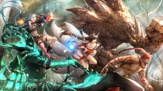 Video Game League Of Legends  Jinx (League Of Legends) Thresh (League Of Legends) Ahri (League Of Legends) Lee Sin (League Of Legends) Malphite (League Of Legends) Wallpaper