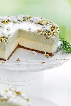 Fruit Recipes, Cheesecake Recipes, Mousse, Vegan Ramen, Cookie Desserts, Cake Art, Pistachio, Cheesecakes, Cake Cookies