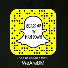 Have you already added the biggest beard account on snapchat: WeAreBM??  If you like our content add us for more beard motivation fashion and quotes!  @beardmuscles