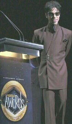 Prince at an awards show