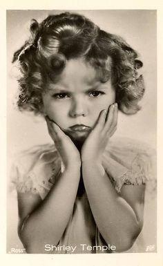 *SHIRLEY TEMPLE ~ Cigarette Card, 1930s.