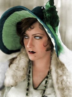 Gloria Swanson - Colorized by NorthOne on DeviantArt