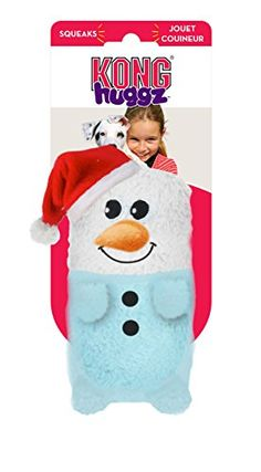Kong Holiday Huggz Large Dog Toy Snowman ** Want to know more, click on the image. (Note:Amazon affiliate link) #DogToys