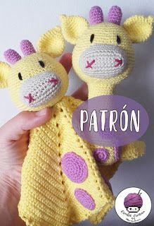 Diy Crafts - toys-Crochet amigurumi toys haken new ideas crochet toys Giraffe Crochet, Crochet Lovey, Crochet Baby Toys, Baby Girl Crochet, Crochet Bunny, Love Crochet, Baby Blanket Crochet, Crochet For Kids, Crochet Dolls