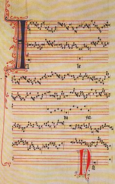 A work called Alleluia Nativitas by the French composer Pérotin from the 12th/13th centuries.