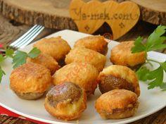 Peynirli Mantar Kızartması Resimli Tarifi - Yemek Tarifleri