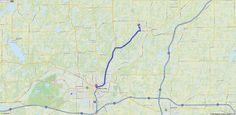 Driving Directions from Bellevue, Michigan 49021 to 7 Van Buren St W, Battle Creek, Michigan 49017 | MapQuest
