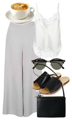 """""""Untitled #5513"""" by rachellouisewilliamson on Polyvore featuring Givenchy, Topshop and Ray-Ban"""
