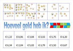 Mini Loco - Hoeveel geld heb ik? Mini, Creative Teaching, Pre School, Preschool Activities, Euro, Education, Learning, Blog, Note Cards