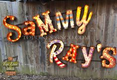 Marquee Letters, Marquee Lights, Match Font, Metal Edging, Poster Display, Logo Sign, Font Setting, Stage Set, Business Signs