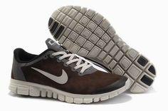 Nike Free 3.0 V2 Anti-Fur Brown White Men Running Shoes