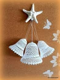 Resultado de imagen para campanas en crochet souvenir