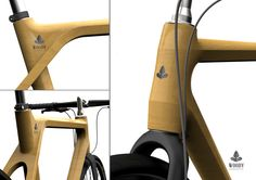 Woody - wood bike design on Behance