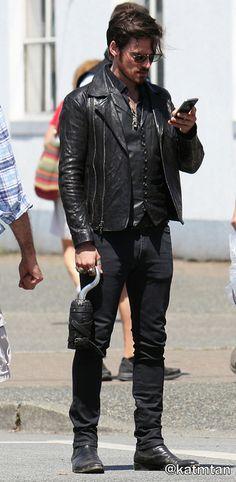 "Colin O'Donoghue - Behind the scenes - 5 * 1 ""Dark Swan"" 17 July 2015"