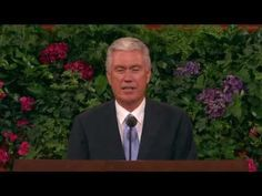 Forget Me Not - President Dieter F. Uchtdorf - October 2011 General Relief Society Meeting