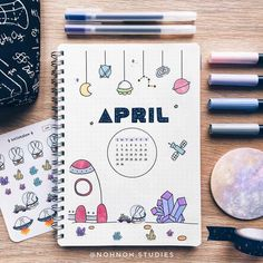 47 Out of this world galaxy and space themed bullet journal spreads 47 Nicht von dieser Welt Galaxie und Weltraum. Bullet Journal Pinterest, April Bullet Journal, Bullet Journal Writing, Bullet Journal Aesthetic, Bullet Journal Ideas Pages, Bullet Journal Spread, Bullet Journal Layout, Bullet Journal Inspiration, Bullet Journals