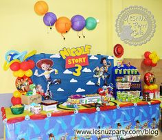 Toy Story mesa dulce- Sweet Table Toy Story