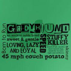<3 greyhounds